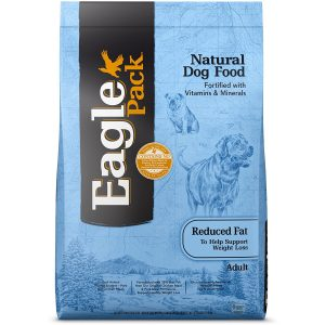 best low calorie dog food is Eagle pack