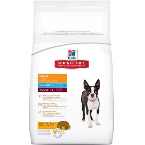 best low calorie dog food is Hill's Science Diet