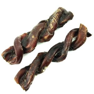 "Peppy Pooch 6"" Braided Bully Sticks - 6 Pack"