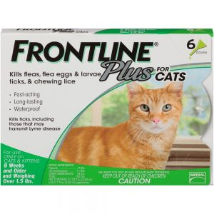 frontline for cats reviews on Frontline Plus