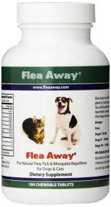 best flea pill for dogs: Flea Away The Natural Flea, Tick