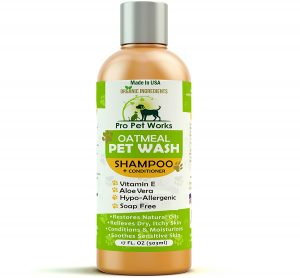 Best Anti Itch Shampoo for Dogs : Pro Pet Works Natural Oatmeal Dog Shampoo