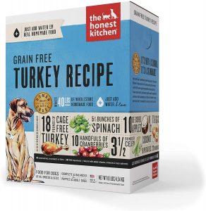 yeast free dog food